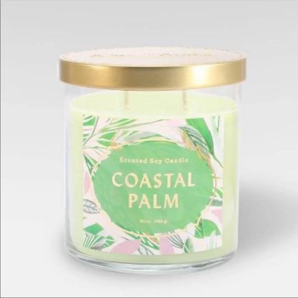 NWT Opalhouse Coastal Palm Candle